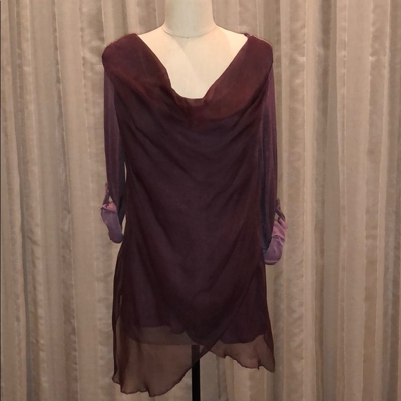 save off 847aa 1a694 NWT New Collection Made in Italy Overlay Top NWT